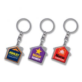 100322 Trends Collection House Metal Key Ring