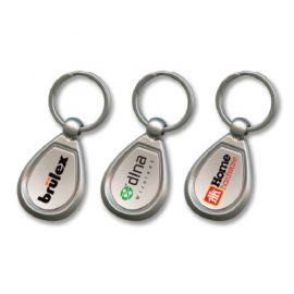 100324 Trends Collection Drop Metal Key Ring