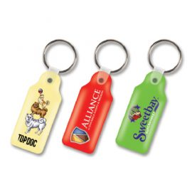 104336 Trends Collection Rectangle Flexi Resin Key Ring
