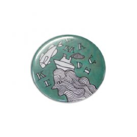 104780 Trends Collection Button Badge Round 58mm