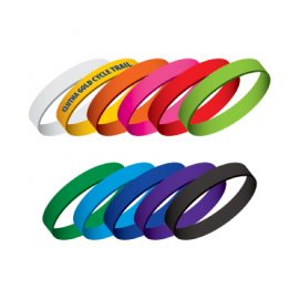 107101 Trends Collection Silicone Wrist Bands