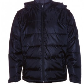 CPJ-Convertible-Puffer-Jacket-black-front-sleeves-hood-down