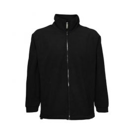 PJN-microfleece-jacket-black-front