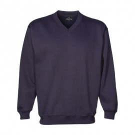 VSI-V-neck-sweat-navy-front