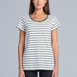 4023 AS Colour Loop Stripe Tee