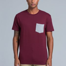 5010 AS Colour Staple Pocket Tee