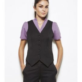 50111 Biz Corporates Ladies Peaked Vest