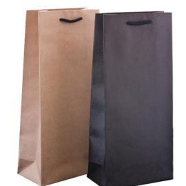 Twin wine bag 400 x 184 x 96