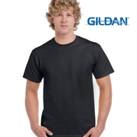 2000 Gildan Ultra Cotton Classic Fit Adult T Shirt Black