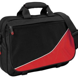 b357 Legend Life Signature Satchel Black/white/Red