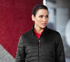 J750L Biz Collection Womens Expedition Quilted Jacket