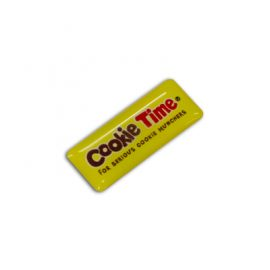 The Trends Collection Resin Coated Labels 30 x 12 is a resin coated adhesive label suited for permanent branding of a huge range of items.  In 4 colours.  Branded labels.