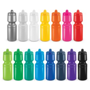 The Trends Collection X-Stream® Shot Drink Bottle is a recyclable BPA free 750ml bottle.  Non drip self sealing lid.  2 branding areas.  15 colours available.