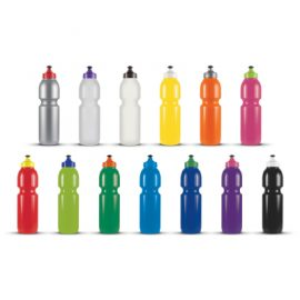 The Trends Collection Supa Sipper Drink Bottle is a recyclable BPA free 800ml bottle.  2 printing areas in digital print or screen printing.  15 colours available