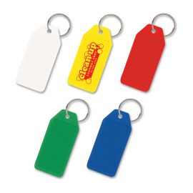 The Trends Collection Budget Key Ring is a low cost hard plastic key ring. Available in 5 colours. Can be branded front and back! Great promo product for your clients.