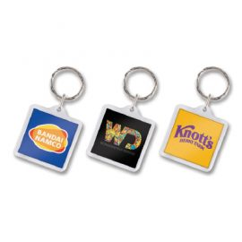 The Trends Collection Square Lens Key Ring is our most popular style of key ring.  Full colour printing included in price.  Can be numbered at additional cost.