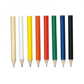 The Trends Collection HB Mini Pencil is a half size round HB Pencil. Available in 7 colours. Great branded HB pencils for you and your clients.