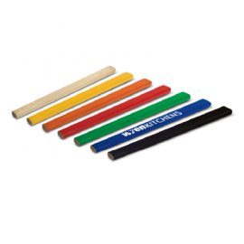 The Trends Collection Carpenters Pencil is a rectangular shaped carpenter's pencil. In 7 colours. Can be full colour printed. Great stationary product.