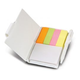 The Trends Collection Flag Pad is a pocket rocket sized note book containing a pad of stick anywhere adhesive notes. 4 bright colour flags and pen included.