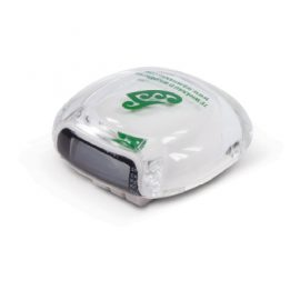The Trends Collection Multi Function Pedometer is a smart looking, high quality multi function pedometer.  Available in Clear.  Great sports promotional product.