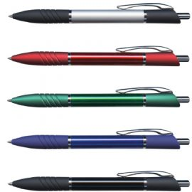 The Trends Collection Daytona Pen is a retractable aluminium ball pen.  Available in 2 colours.  Black Ink.  Great branded promotional pen.
