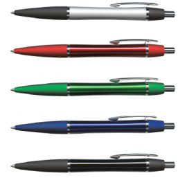 The Trends Collection Rio Pen is a retractable aluminium ball pen.  Laser engraving or pad print branding.  Great branded promotional pen.  3 colours.