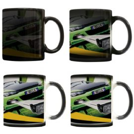 The Trends Collection Chameleon Coffee Mug is a 300ml thermochromic coffee mug. Sublimation printing available. Great branded novelty promotional product.