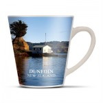 The Trends Collection Latte Coffee Mug is a 300ml latte style ceramic coffee mug. Sublimation printing. Great branded hospitality or drink ware promotional product.