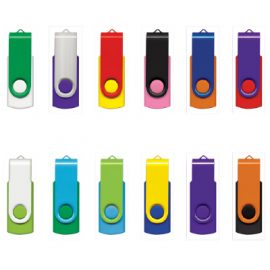 The Trends Collection Helix USB Flash Drive comes in sizes from 2gb to 16gb.  Lots of colours to choose from for your logo.  Great promotional product for your business.