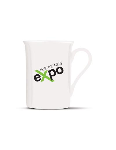 The Trends Collection Pandora Coffee Mug is a high quality 300ml fine bone china coffee mug. Great branded promotional coffee mug for hospitality or gifts.