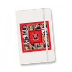 The Trends Collection Alpha A6 Note Book is a luxury 80 lined page hard cover note book. 8 colours. Great branded promotional stationery product