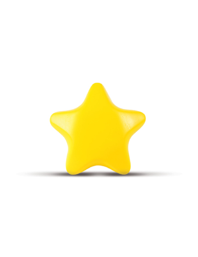 The Trends Collection Stress Star is a star shaped anti stress toy made from P.U. Yellow only. Great branded anti stress promotional product.