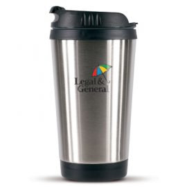 The Trends Collection Barista Coffee Cup is a 300ml double walled coffee cup.  Laser Engraved or Printed.  Great branded coffee drink ware promotional product.