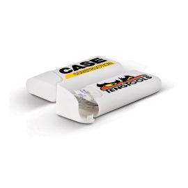 The Trends Collection Bandage Box is a pocket size plastic box containing 12 bandage strips. Available in White. Great branded health promotional product.