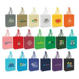 The Trends Collection Avanti Tote Bag is a reusable tote bag with a 90mm gusset & longer carry handles.  80gsm.  In 19 colours.  Great branded retail bags.