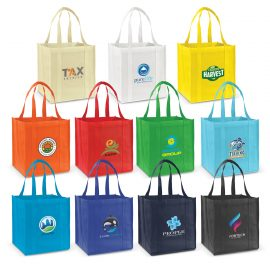 The Trends Collection Super Shopper Tote Bag is a rugged tote bag with large gusset.  Great for Retail.  11 colours.  Great branded promotional bag products.