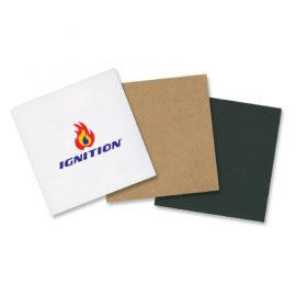 The Trends Collection Comet Note Pad is a 100 page pad of adhesive notes. 3 cover colours. White stickies. Great branded promotional stationery product.