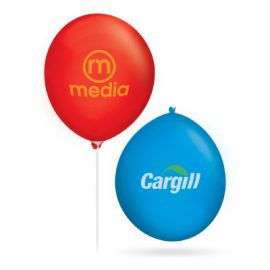 The Trends Collection 30cm Balloons are great advertising balloons.  Helium or air inflated.  Available in 10 colours.  Great branded promotional event products.
