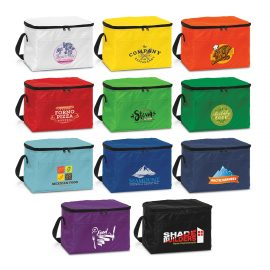 The Trends Collection Alaska Cooler Bag is a small low cost cooler bag.  11 Colours.  Great gift for your clients.  Great branded promotional cooler bag product.