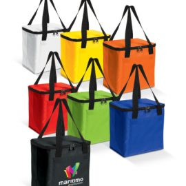 The Trends Collection Siberia Cooler Bag is a medium sized cooler bag with double handles. 7 colours available. Great branded promotional cooler bag product.