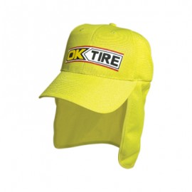 Headwear Professionals Luminescent Safety Cap with Flap