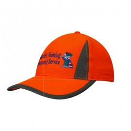 Headwear Professionals Luminescent Safety Cap
