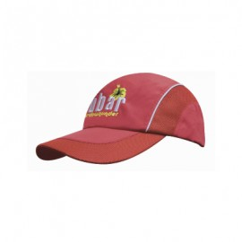 Headwear Professionals Spring Woven Fabric with Mesh ca