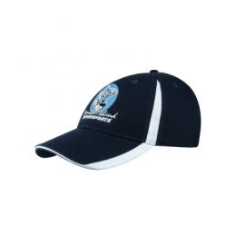 Headwear Professionals Brushed Heavy Cotton Cap  with insert on the peak and crown