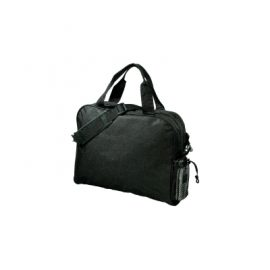 The Legend Life Document Bag has a business card holder and a detachable shoulder strap. 8 litres. Available in Black. Great branded document bags & business promo products.
