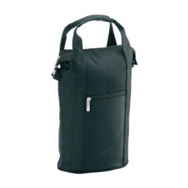 The Legend Life Wine Cooler comes in black & holds 2 bottles of wine. Top Zip closure. Great branded wine coolers and cooler bags.