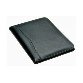 The Legend Life Windsor A4 Compendium has A4 writing pad, mesh card holder & pen loops. Black. Great branded compendiums & business portfolios.