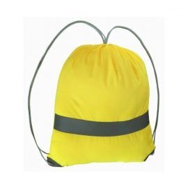 The Legend Life Hi Viz Backsack is made of reflective material and has a draw closure.  Hi Viz Yellow.  Branded on the front and or back.  Great branded backpacks & bags.