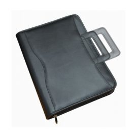 The Legend Life Windsor Ringfolio Brief has a leather look, retractable handles, removable ring binder & pen & card holder. Great branded compendiums.