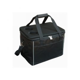 The Legend Life Large Hard Top Cooler is usable as a picnic table and drink holder. Can be embroidered or printed/transfer. Great branded cooler bags.